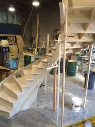 Radius Stairs by Wood Stairs J U0026j Elite Carpentry