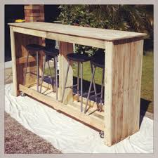 Pallet Bathroom Vanity by Mobile Outdoor Bar From Recycled Pallets Pallets Dry Bars And Bar