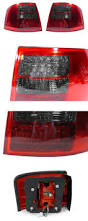 usa 98 05 audi a6 allroad red smoke led tail light touring avant