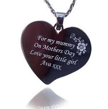 Photo Engraved Necklace Engraved Necklace Ebay