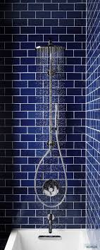 blue bathroom tiles ideas the bold look of relaxing room bodies and room