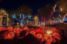 ethel m chocolate factory las vegas holiday lights holiday shopping dining and entertainment options in las vegas