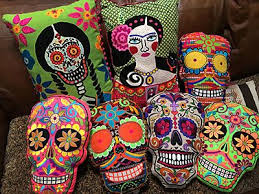 Day Of The Dead Home Decor 344 Best Day Of The Dead Images On Pinterest Day Of The Dead