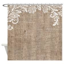 Burlap Looking Curtains Best 25 Rustic Shower Curtains Ideas On Pinterest Rustic Shower