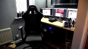 Racing Office Chairs Gt Omega Racing Pro Gaming Office Chair First Look U0026 Review Youtube