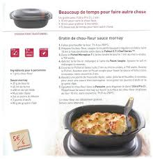 atelier cuisine tupperware gratin de chou fleur sauce mornay tupperware 78 et 28
