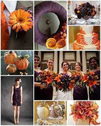 fall colors for weddings 6 combinations for fall wedding colors weddings