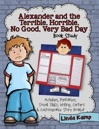 Bad Day Go Away A Book For Children And The Terrible Horrible No Bad Day Book Study