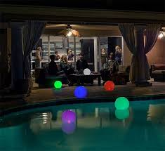 solar swimming pool lights g a m e galaxyglo solar powered multi colour globe floating pool