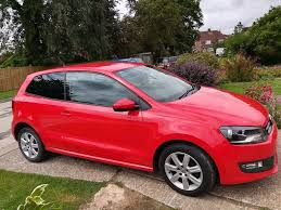 2012 red volkswagen polo 1198cc petrol manual in hailsham east