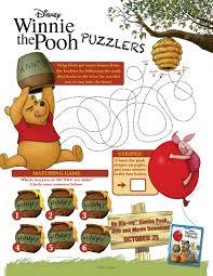 winnie pooh printable puzzles mama likes