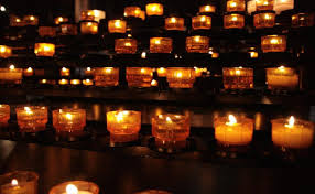 time to put out electric votive candles catholic answers