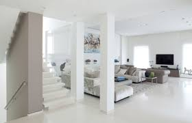 nice simple design interior design white rooms that has white