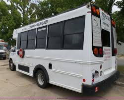 2006 ford e450 super duty girardin shuttle bus item db4512