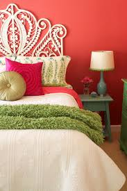 Pink And Green Bedroom - peacock bedroom ideas bedroom eclectic with pink walls embroidered