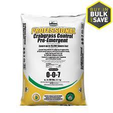shop sunniland 50 lb 20000 sq ft 0 0 7 fertilizer with crabgrass