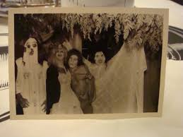 creepy spooky creepers vintage halloween photo ugly scary costumes