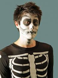 kids halloween makeup halloween makeup tutorial skeleton hgtv