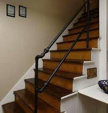 Metal Stair Banister 212 Best Images About Pipe Railing On Pinterest Diy Metal Stair