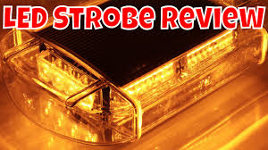 Emergency Light Bars For Trucks 24w Led Emergency Vehicle Tow Towing Truck Strobe Warning Mini