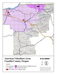 Oregon County Map by Umatilla Co Planning Gis