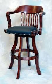 Bar Stool With Back And Arms Swivel Bar Stools With Back And Arms 7012 11 Swivel Bar Stool