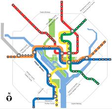 dc metro rail map search by metro station