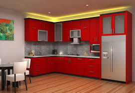 red kitchens kitchens trendy red kitchen with small kitchen design beautiful