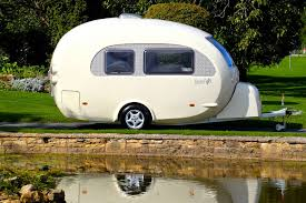 shell on wheels this egg shaped camper wraps modern comforts in