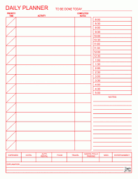 printable pdf blank daily calendar template template sample
