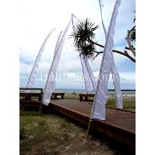 White Flag Meaning White Bali Wedding Flag