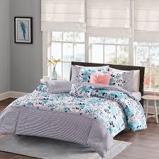 Tiffany Blue Comforter Sets Amazon Com Delle Comforter Set Blue Full Queen Home U0026 Kitchen