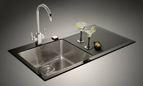 Black Glass Kitchen Sinks Glass Sink Kitchen Whitevision Info