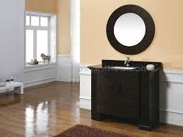 White Bathroom Vanity With Black Granite Top by Interesting Decorating Ideas Using Rectangular Brown Wooden Vanity