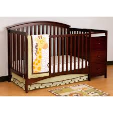 Convertible Cribs With Attached Changing Table by Blankets U0026 Swaddlings Upholstered Convertible Crib In Conjunction