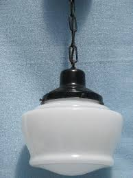 Schoolhouse Pendant Lighting Kitchen Vintage Hanging Lamps And Chandeliers