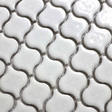 white mosaic tiles wall promotion shop for promotional white