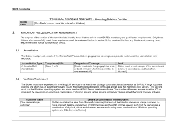 rfp template rfp vendor template excel 13 free vendor templates