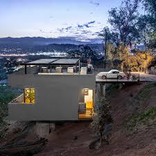 steep slope house plans modern house on stilts steep slope terrain home