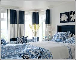 Navy Blue And White Curtains Navy And White Drapes Bullishness Info
