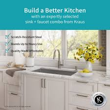 where are kraus sinks made kraus handmade series 32 x 19 undermount kitchen sink with faucet