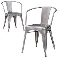 Black Metal Bistro Chairs Great Deal At Target On These Chairs 2 For 100 Industrial
