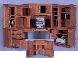 black l shaped desk with hutch office desk and hutch alluring design corner desk with hutch ideas