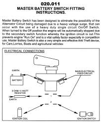 battery master switch wiring diagram wiring diagram and