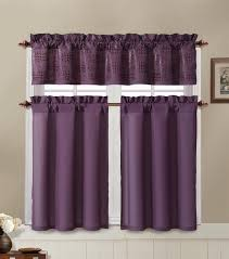 Chocolate Brown Valances For Windows Bathroom And More Purple And Chocolate Brown Kitchen Window