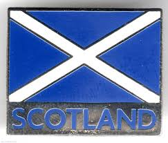 scotland flag national emblem scotland pin 11064