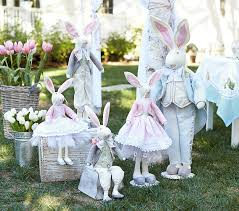 easter decorations on sale felted wool bunny décor pottery barn kids