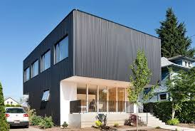 Industrial Modern House Industrial Invention Masculine Looking Exterior Has A Rather Soft