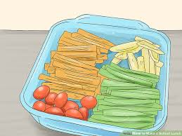 3 ways to make a lunch wikihow