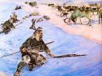 chasseur de rennes